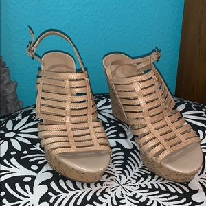 strapy summer wedges!